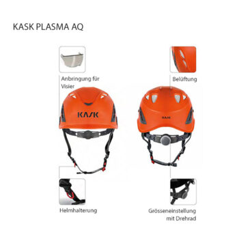 KASK PLASMA AQ Features
